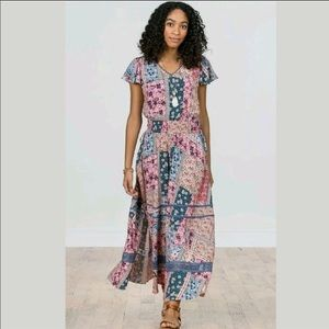 Matilda Jane wildlife Maxi dress New with tags XL